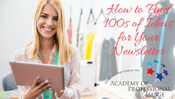 100s of ideas for newsletter