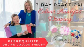 Online Colour Analysis Training Practical Draping