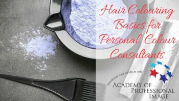 Hair colouring basics for personal colour consultants