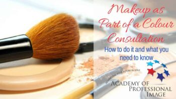 Webinar - Makeup as Part of a Colour Consultation