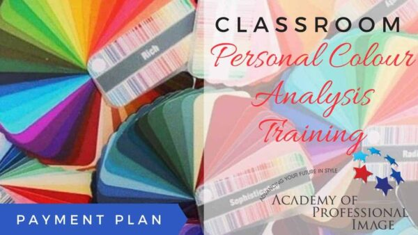 Personal Colour Analysis Classroom Training - Payment Plan
