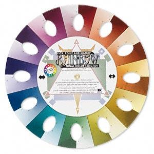 Rainbow Tonal Colour Wheel