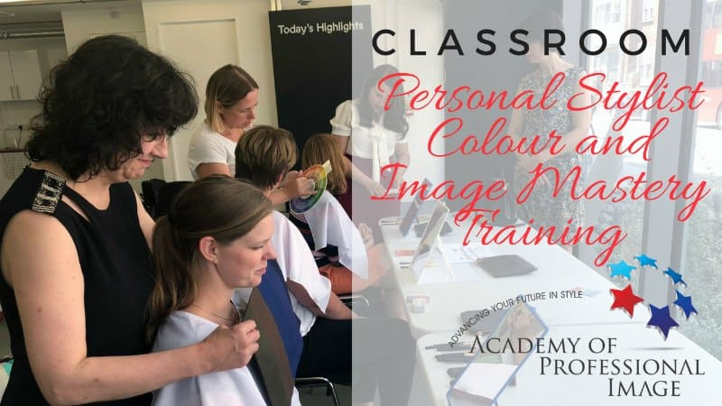 Become a personal stylist and personal colour consultant with the academy of professional image's training programs