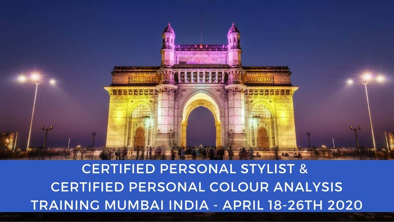 Certified Personal Stylist and Personal Colour Analysis Training programs India