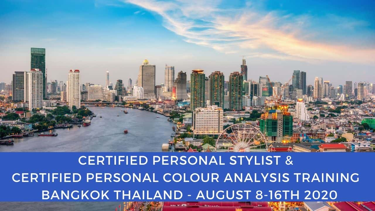Certified Personal Colour analysis and Certified Personal Styling Training in Thailand