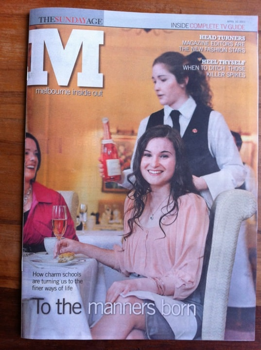 Imogen Lamport featured in The Sunday Age M magazine