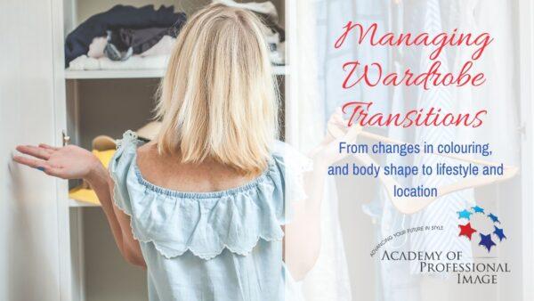 managing wardrobe transitions webinar