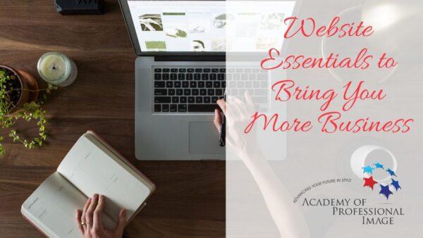 website essentials webinar