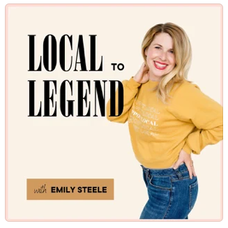 Local to Legend podcast with Imogen Lamport on personal styling
