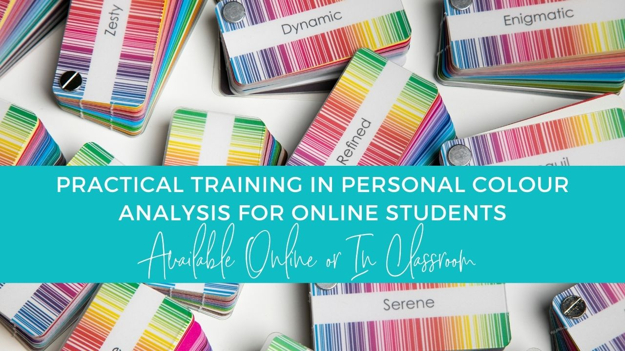 practical personal colour analysis draping training online